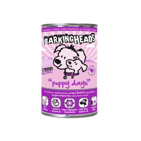 Barking Heads Puppy Days Chicken Grain Free Wet Puppy Food