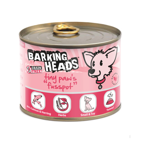 Barking Heads Tiny Paws Fusspots Grain Free Wet Small Breed Adult Dog Food