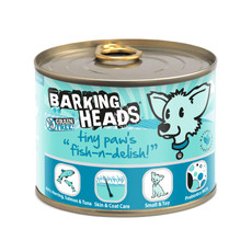 Barking Heads Tiny Paws Fish-n-delish Grain Free Wet Small Breed Adult Dog Food 6 X 200g