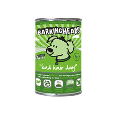 Barking Heads Bad Hair Day Grain Free Wet Adult Dog Food 6 X 400g