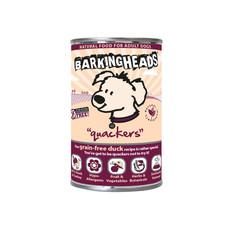 Barking Heads Quackers Grain Free Wet Adult Dog Food 6 X 400g