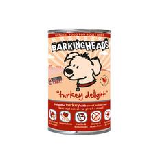 Barking Heads Turkey Delight Grain Free Wet Adult Dog Food 6 X 400g
