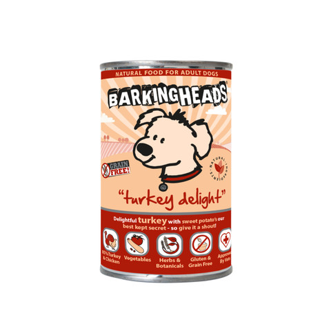Barking Heads Turkey Delight Grain Free Wet Adult Dog Food