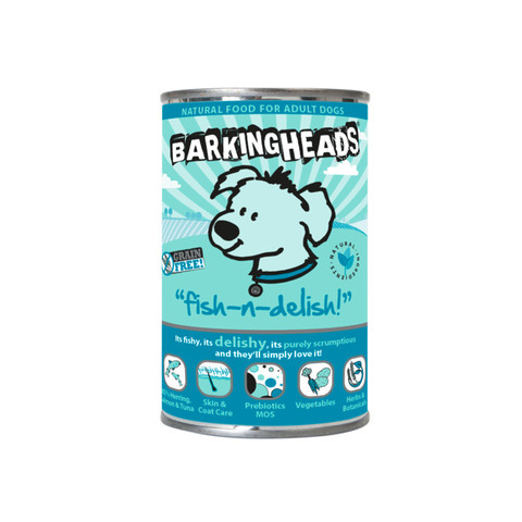 Barking Heads Fish-n-delish Grain Free Wet Adult Dog Food