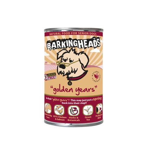 Barking Heads Golden Years Grain Free Wet Senior Dog Food