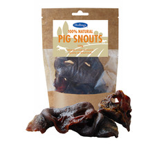 Hollings 100% Natural Pig Snouts Dog Treats 120g To 8 X 120g