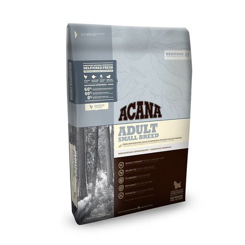 Acana Heritage Grain Free Adult Small Breed Dog Food 6kg