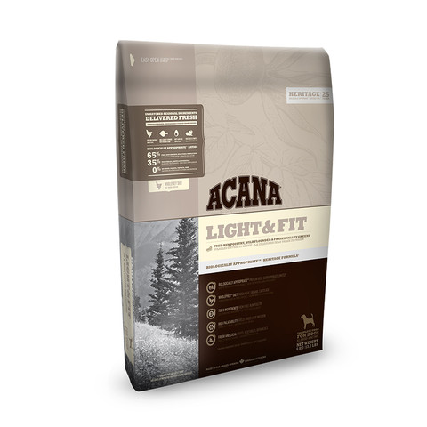 Acana Heritage Grain Free Light And Fit All Breeds Adult Dog Food 11.4kg