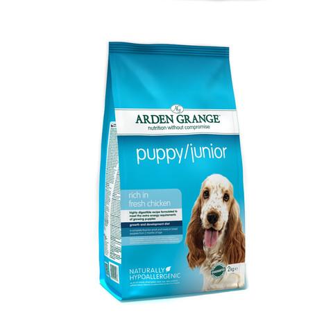 Arden Grange Puppy And Junior Food 2kg