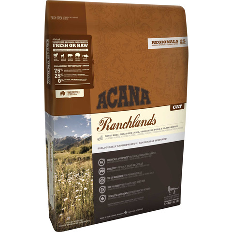 Acana Regionals Ranchlands Grain Free All Life Stage Cat Food 5.4kg