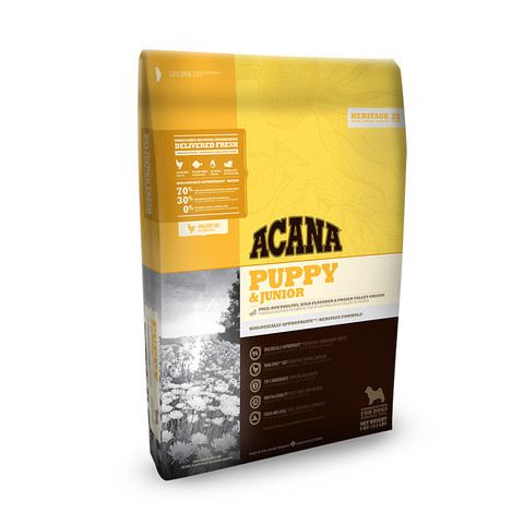 Acana Heritage Grain Free All Breeds Puppy And Junior Food 11.4kg
