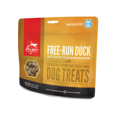 Orijen Grain Free 100% Free-run Duck Freeze Dried Natural Dog Treats 42.5g
