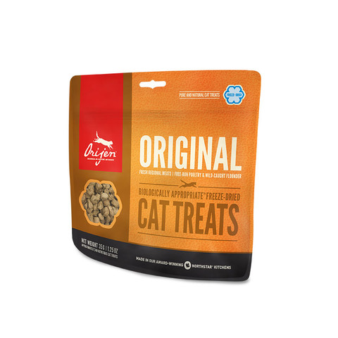 Orijen Grain Free 100% Meat Original Freeze Dried Natural Cat Treats 35g