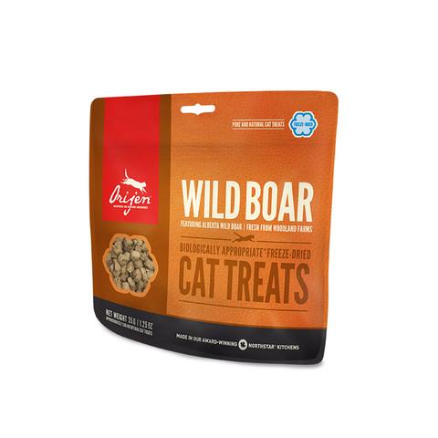 Orijen Grain Free 100% Meat Wild Boar Freeze Dried Natural Cat Treats 35g