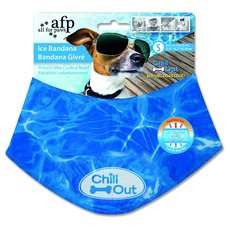 All For Paws Cooling Relief Ice Bandana For Dogs Small