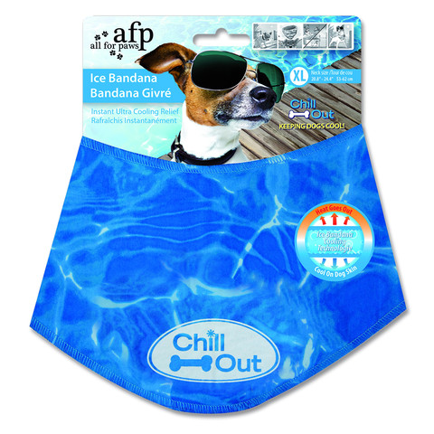 All For Paws Cooling Relief Ice Bandana For Dogs X Large