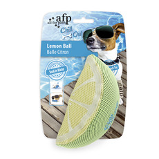 All For Paws Chill Out Lemon Slice Soaker Dog Toy