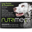 Nutriment Low Purine & Phosphorus Formula Raw Frozen Adult Dog Food Tub 500g