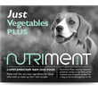 Nutriment Just Vegetables Plus Formula Complementary Raw Frozen Adult Dog Food Tub 500g