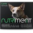 Nutriment Lamb Formula Raw Frozen Adult Dog Food Tub 500g