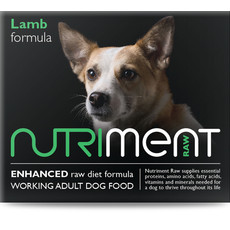 Nutriment Lamb Formula Raw Frozen Adult Dog Food Chubb 1.4kg