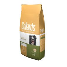 Collards Hypo-allergenic Adult Dog Food With Turkey And Rice 2kg To 2 X 12kg