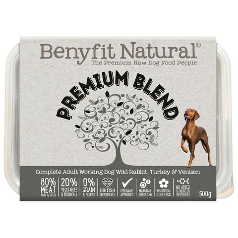 Benyfit Natural Premium Blend Premium Raw Frozen Adult Dog Food 500g