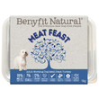 Benyfit Natural Meat Feast Premium Raw Frozen Adult Dog Food 1kg