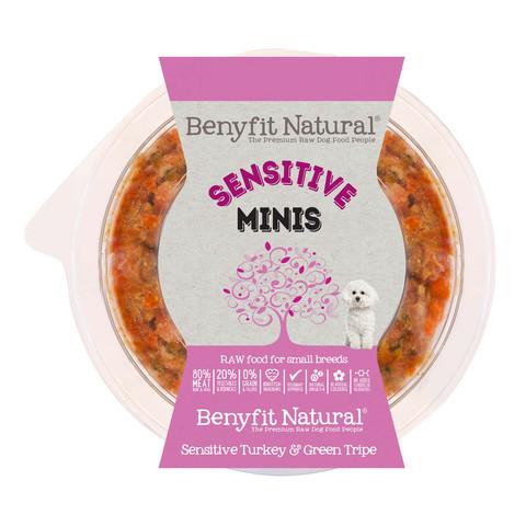 Benyfit Natural Minis Sensitive Premium Raw Frozen Small Breed Adult Dog Food 200g