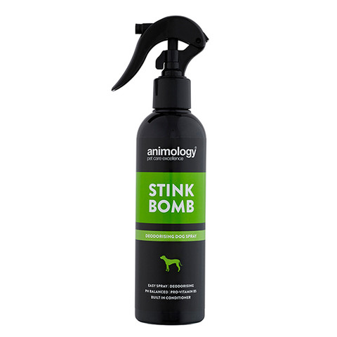 Animology Stink Bomb Deodorising Dog Spray 250ml
