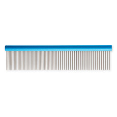 Ancol Ergo Medium And Coarse Aluminium Dog Comb 7 Inch