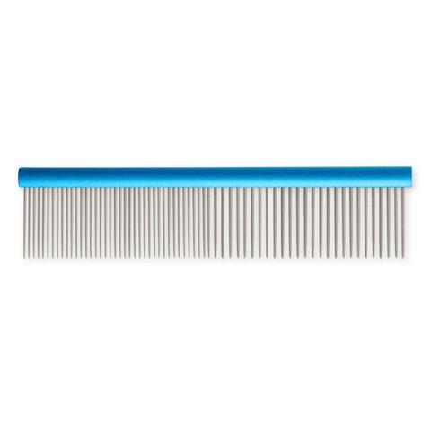 Ancol Ergo Medium And Coarse Aluminium Dog Comb 7 Inch To 3 X 7 Inch