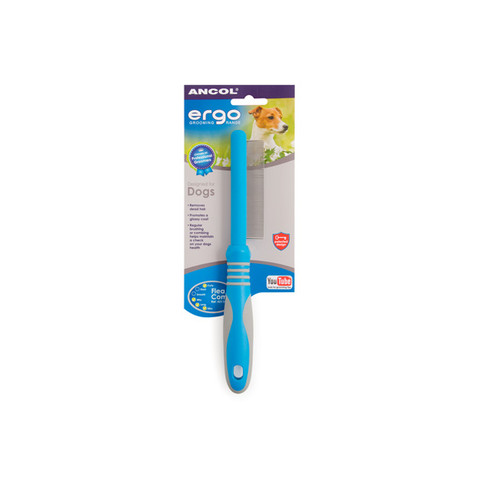 Ancol Ergo Flea Comb For Dogs And Cats