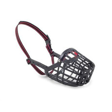 Ancol Plastic Baskerville Dog Muzzle 2 To 8