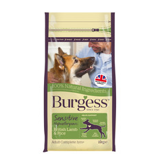 Burgess Sensitive Adult Dog British Lamb And Rice 12.5kg