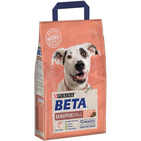 Beta Adult Sensitive Dog Food With Salmon 2.5kg