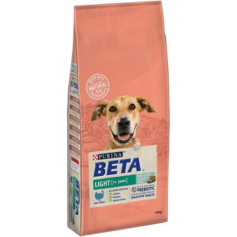 Beta Adult Light Dog Food With Turkey 14kg