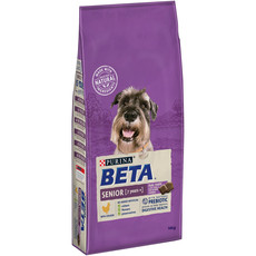 Beta Senior 7+ Years Dog Food With Chicken 14kg