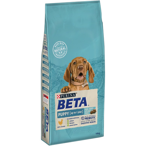 Beta Puppy Food With Chicken 14kg