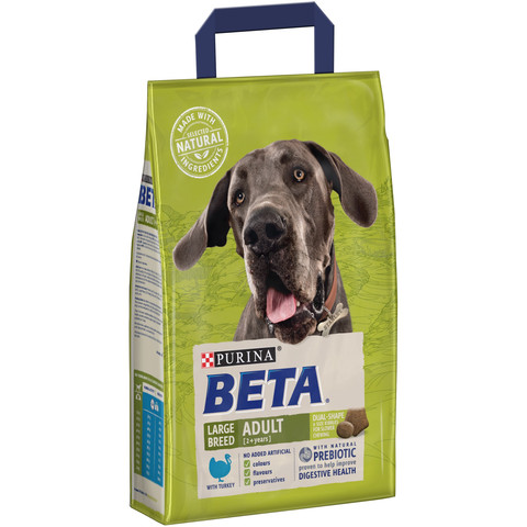 Beta Adult Large Breed Dog Food With Turkey 2.5kg