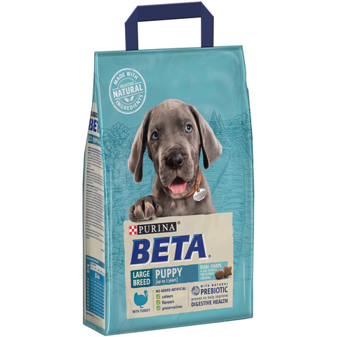 Beta Puppy Large Breed Food With Turkey 2.5kg