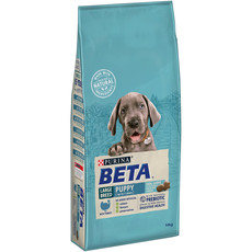 Beta Puppy Large Breed Food With Turkey 14kg