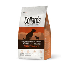 Collards Hypoallergenic Adult Turkey And Rice Dog Food 2kg