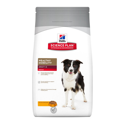 Hills Science Plan Canine Adult Healthy Mobility Medium With Chicken Dog Food 3kg