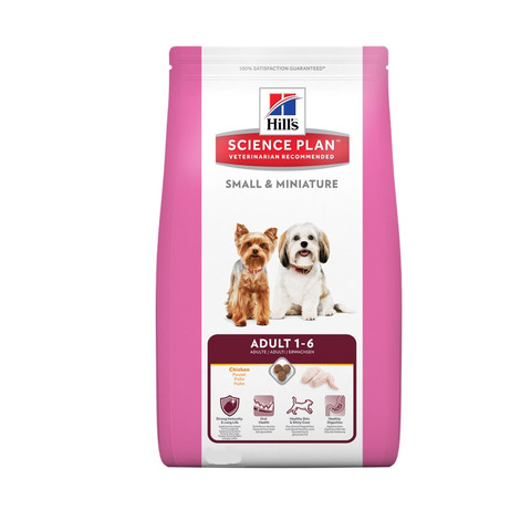 Hills Science Plan Canine Adult Small & Miniature Chicken & Turkey Dog Food 1.5kg