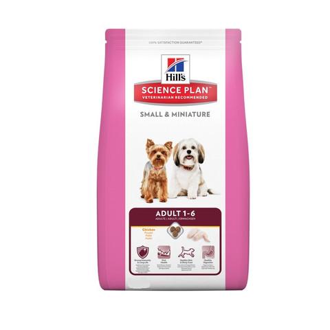 Hills Science Plan Canine Adult Small & Miniature Chicken & Turkey Dog Food 3kg