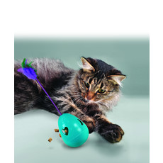 Kong Catnip Infused Tippin Treat Dispenser Cat Toy