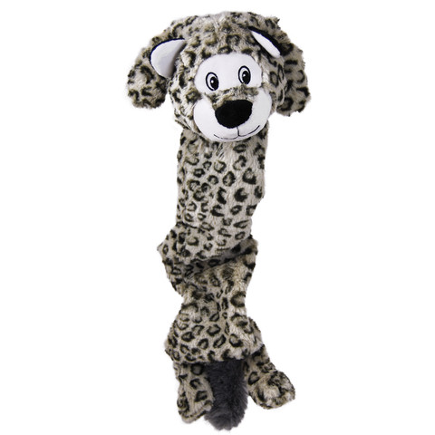 Kong Stretchezz Snow Leopard Dog Toy Jumbo