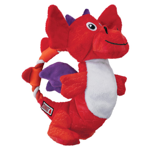Kong Knots Dragon Dog Toy Med/large