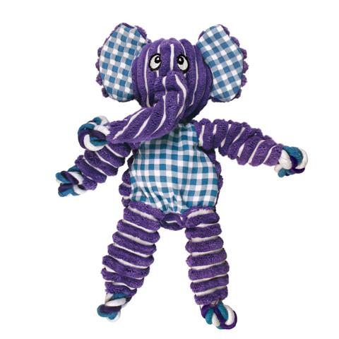 Kong Floppy Knots Elephant Dog Toy Med/large